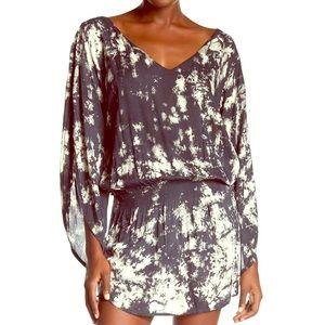 TIARE HAWAII Tie-Dye Smock Dress